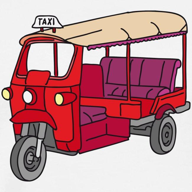 Rote Autorikscha, Tuk-tuk