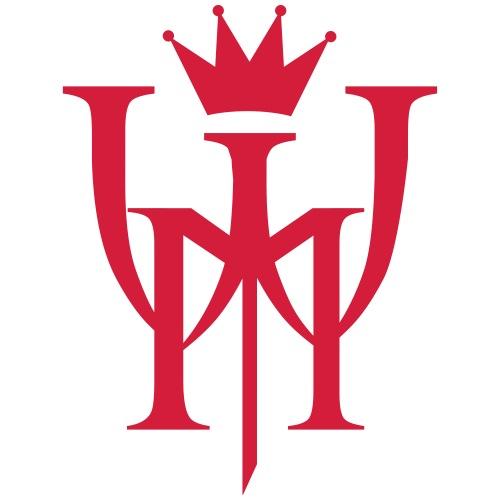 Logo MW Czerwone - Koszulka męska Premium