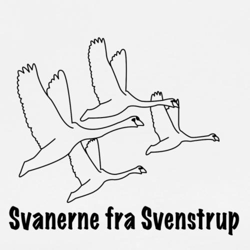 Svanerne fra Svenstrup - Herre premium T-shirt