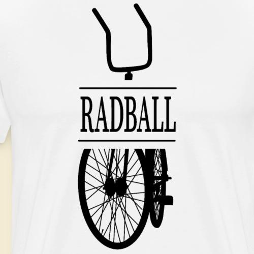 Radball | Retro Black - Männer Premium T-Shirt