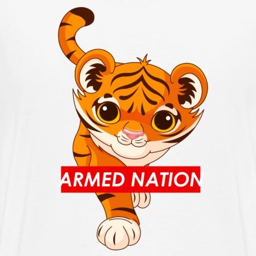 NEW BABY TIGER DESIGN - 2021 - Männer Premium T-Shirt