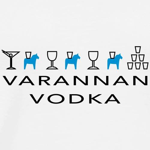 Varannan Vodka - Premium-T-shirt herr