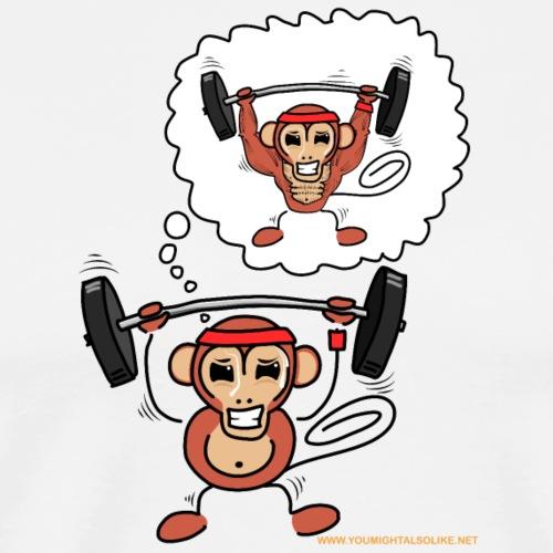 Sports Monkey - Men's Premium T-Shirt