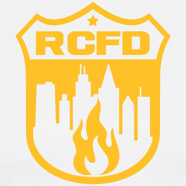 Rising Cities Fire Department Logo