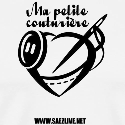 Ma petite couturière (version dark) - T-shirt Premium Homme