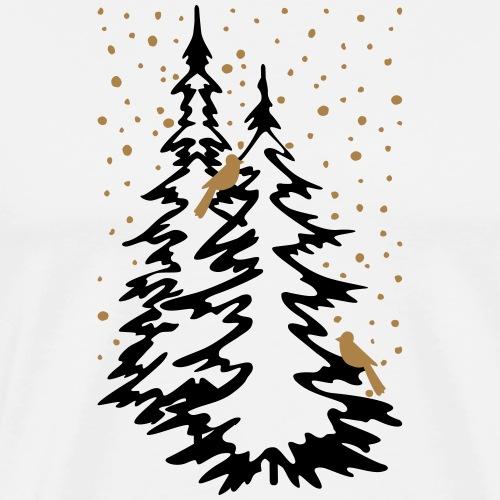 Winterwald - Männer Premium T-Shirt