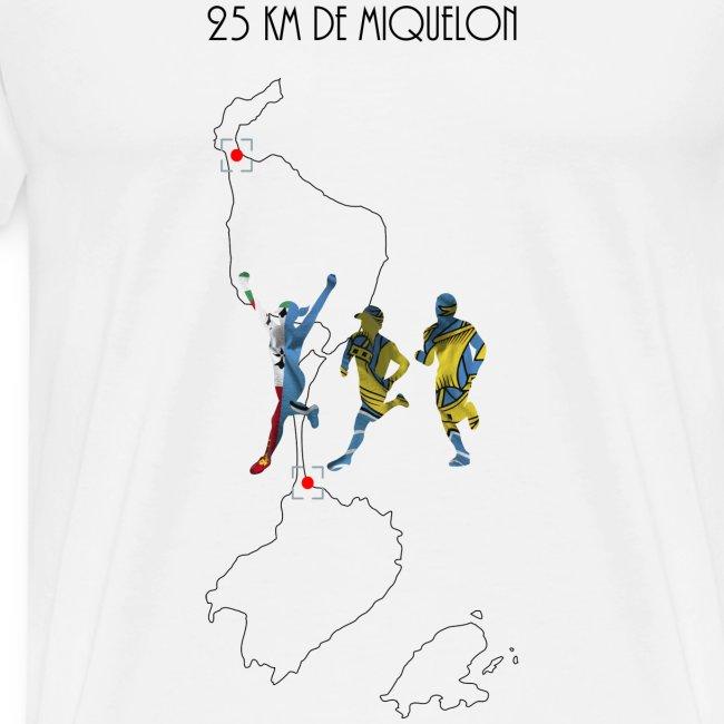 25 km de Miquelon