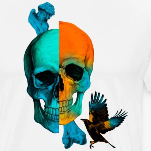 SKULL & CROW - Camiseta premium hombre