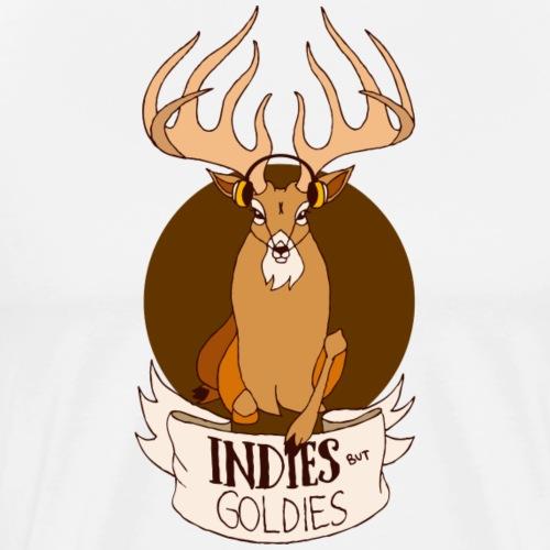 Indies But Goldies Hirsch - Männer Premium T-Shirt