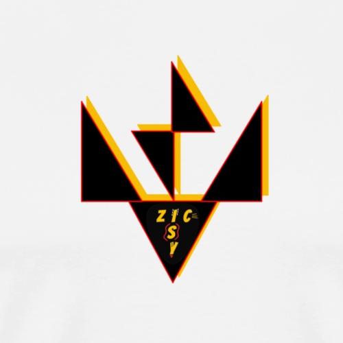 Zic Isy JP noir - T-shirt Premium Homme