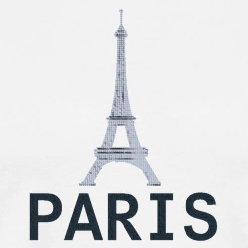 Paris Style 2 Tour Eiffel - Maglietta Premium da uomo