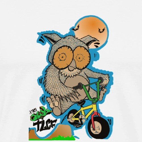 Hibou old Owl png - T-shirt Premium Homme