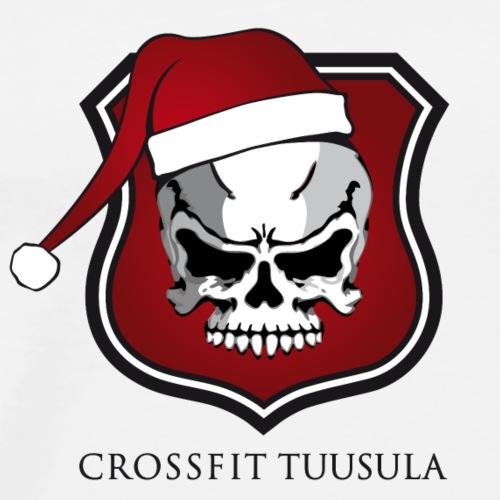 CrossFit Tuusula Xmas - Miesten premium t-paita