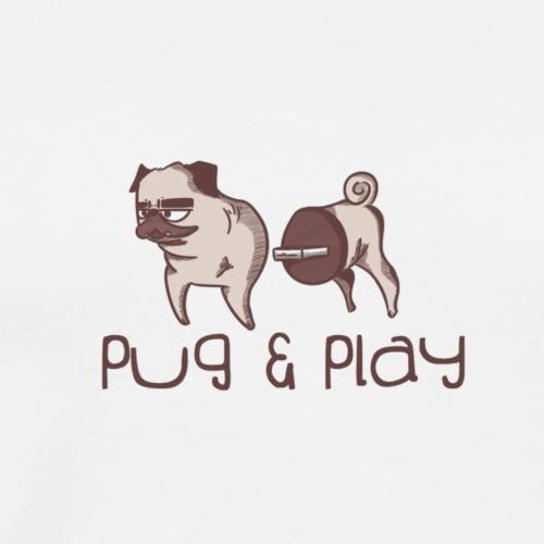 PUG & PLAY - T-shirt Premium Homme