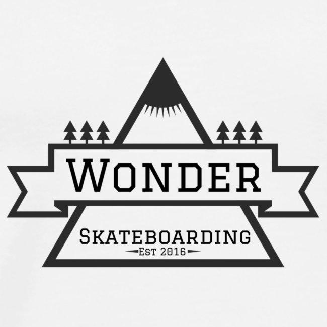 Wonder T-shirt: mountain logo
