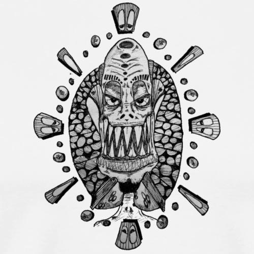 Dib Dabs and Monsters - Men's Premium T-Shirt