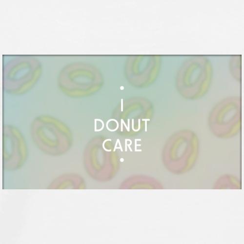 I Donut Care - Premium-T-shirt herr