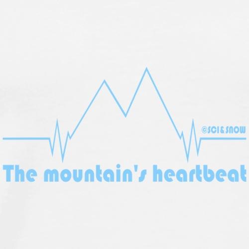 Heartbeat Mood - Maglietta Premium da uomo