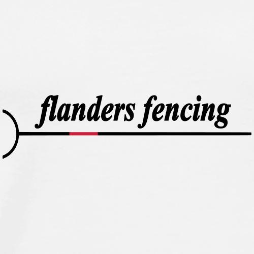 Flanders Fencing - Mannen Premium T-shirt