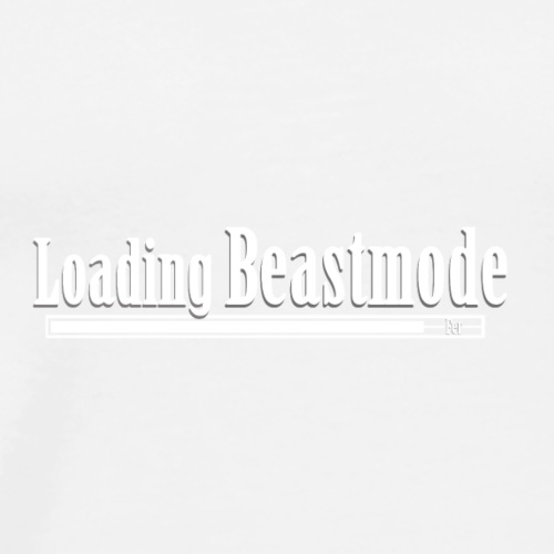 Loading beastmode - Mannen Premium T-shirt