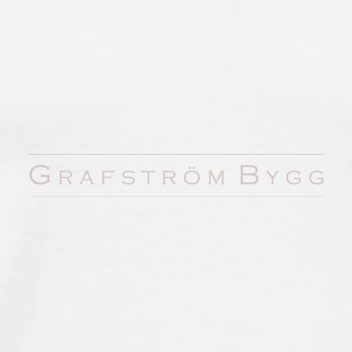 Grafström Bygg - Premium-T-shirt herr