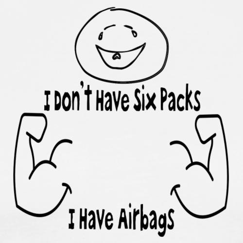 Six Packs - Miesten premium t-paita