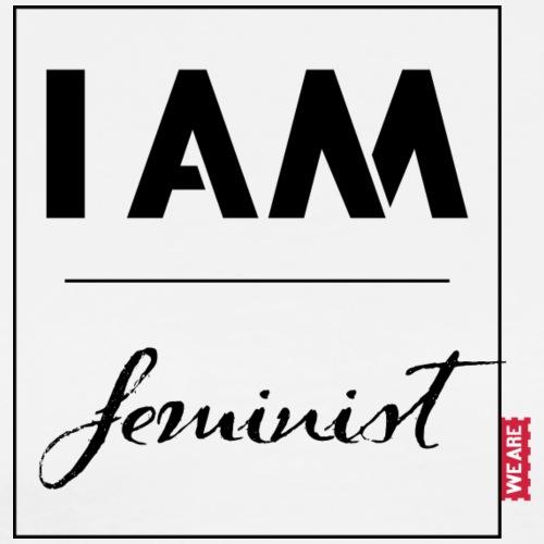 I AM feminist - Männer Premium T-Shirt