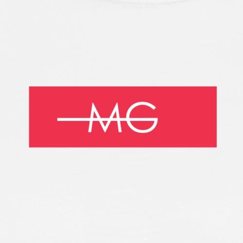MG RED BOX LOGO - Männer Premium T-Shirt