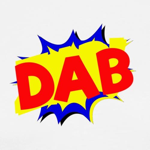 Dab fumetto logo - Maglietta Premium da uomo
