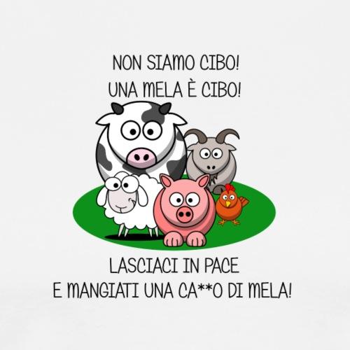 NON SIAMO CIBO - Camiseta premium hombre
