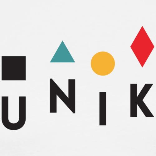 Unik - Maglietta Premium da uomo