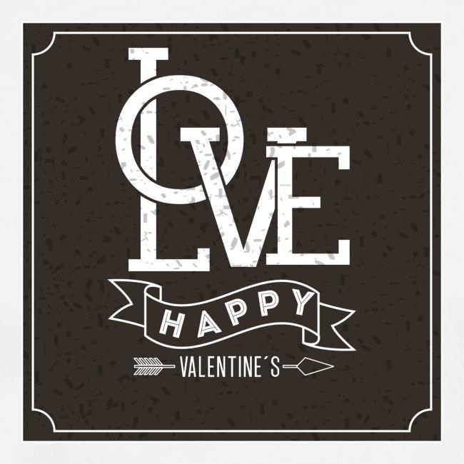 Love Happy St. Valantin tasse