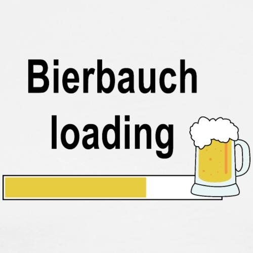 Bierbauch loading - Männer Premium T-Shirt