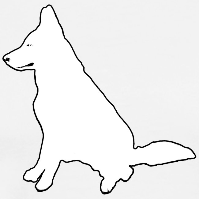 Daron White Dog