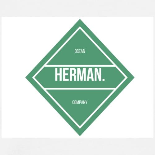 HERMAN FULL TRIANGLE - Camiseta premium hombre