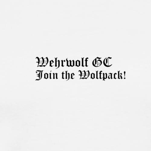 Wehrwolf_GC_Transparent - Men's Premium T-Shirt