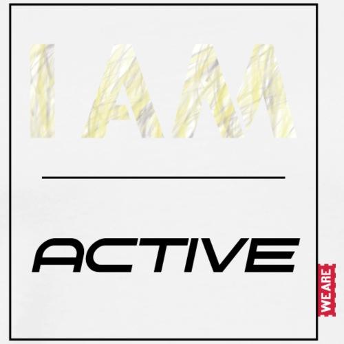 I AM active - Männer Premium T-Shirt
