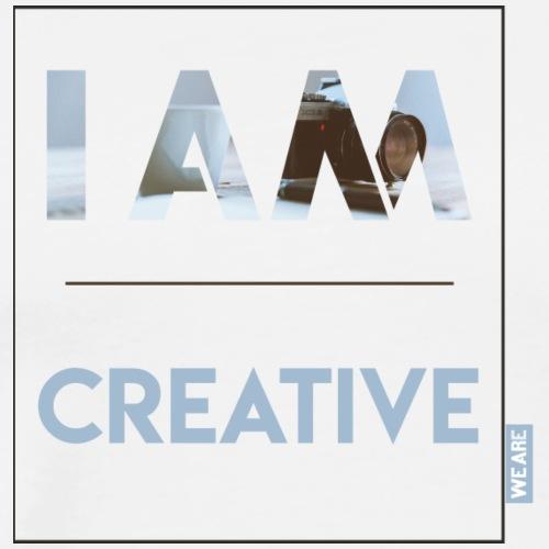 I AM creative - Männer Premium T-Shirt