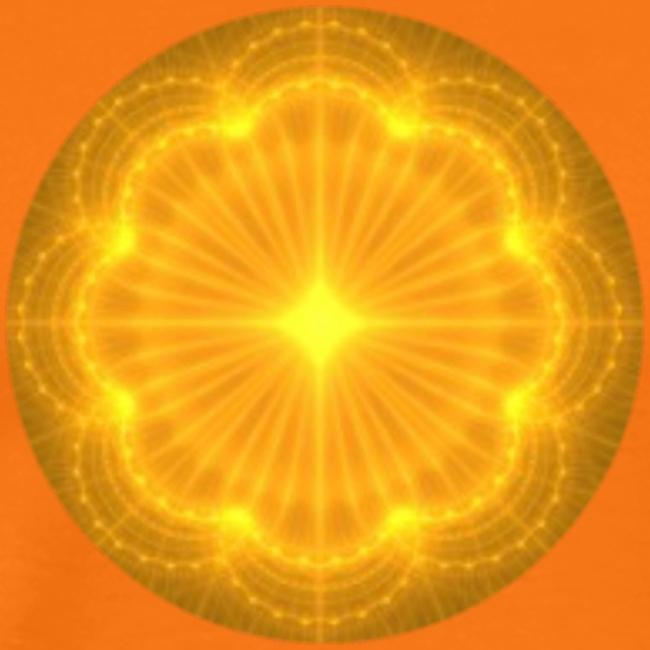 Golden Radiance Mandala Heart
