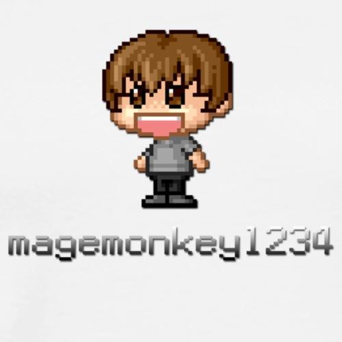 magemonkey1234's Big Logo - Men's Premium T-Shirt