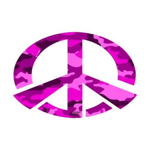 Peace - Pink Camo Edition - Männer Premium T-Shirt
