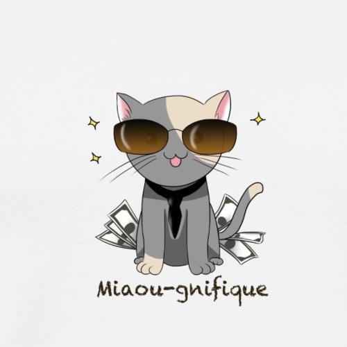 Miaou-gnifique - T-shirt Premium Homme