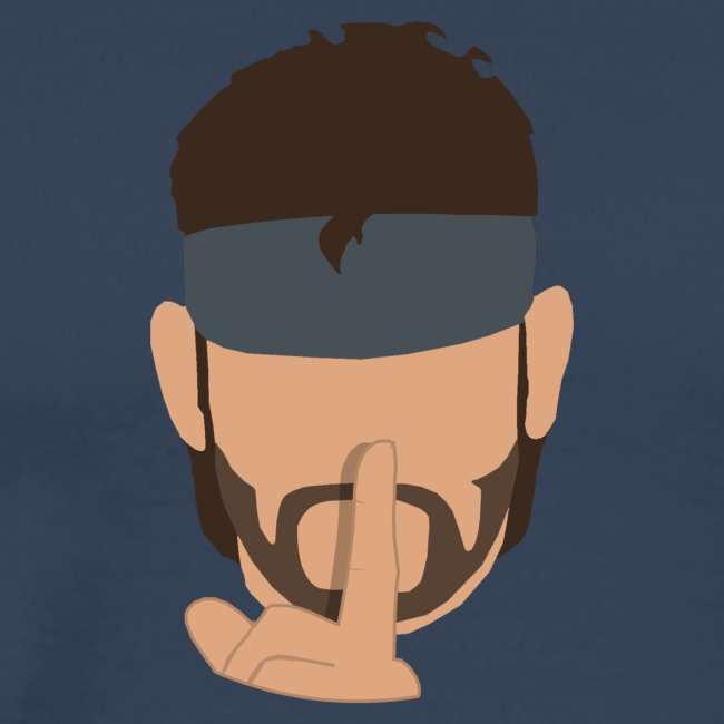 Solid Snake Simplistic