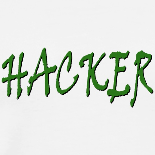 Hacker Green - T-shirt Premium Homme