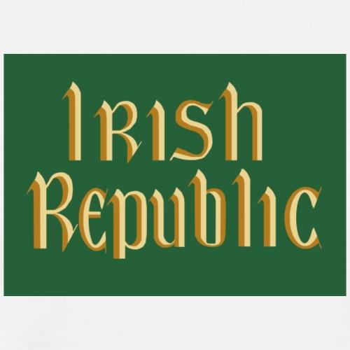 Original Irish Republic Flag - Men's Premium T-Shirt