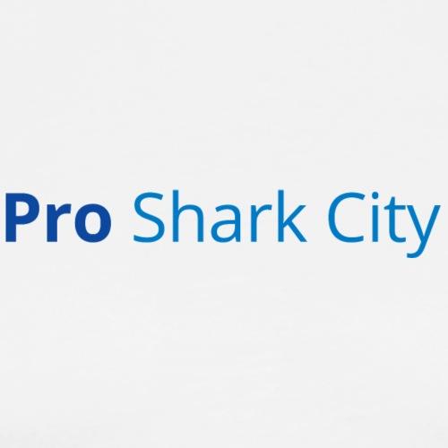 SharkCity TShirt ProSharkCity Schriftzug - Männer Premium T-Shirt