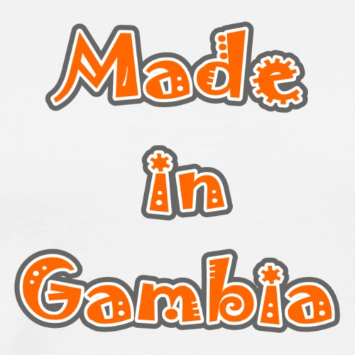 Made in Gambia - Men's Premium T-Shirt