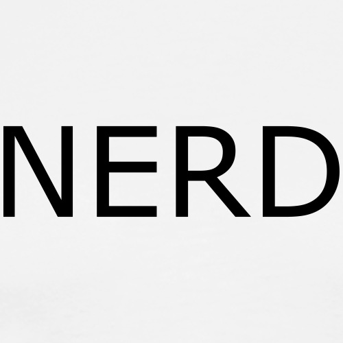 NERD - T-shirt Premium Homme