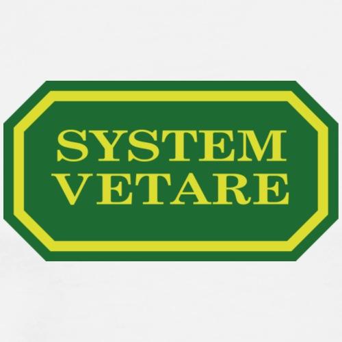 Systemvetare - Premium-T-shirt herr