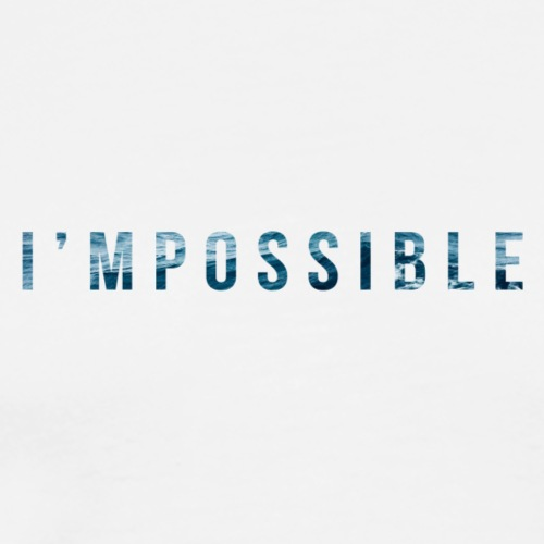 I'mpossible Waves - Men's Premium T-Shirt